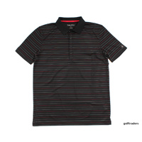 CALVIN KLEIN GOLF SHIRT MEDIUM BLACK - #B1623