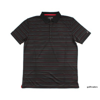 CALVIN KLEIN GOLF SHIRT LARGE BLACK - #B1625