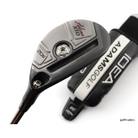 ADAMS XTD TI 20º HYBRID GRAPHITE REG FLEX + COVER - LIKE NEW #C2669
