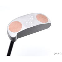 "WOSS 'JAPAN' 33 MO-01 PUTTER 35.5"" -RECON GLASS BEAD BLASTED HEAD #C4057"