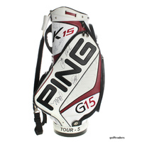 "PING TOUR-S STAFF CART BAG ""SIGNED BY DRAGONS 2010 GRAND FINAL TEAM"" #C5608"