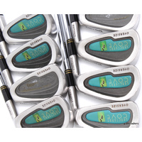 SPALDING SANCTUARY COVE OVERSIZE IRONS 3-PW & SW STEEL REGULAR FLEX #C5937