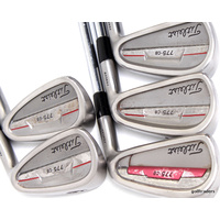 TITLEIST 775CB FORGED IRONS 5-7, 9, PW STEEL NSPRO 100 REGULAR NEW GRIPS #C5950