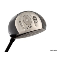 PING TI3 5 WOOD 17º GRAPHITE PING 350 SERIES REGULAR +COVER +NEW GRIP #D1281