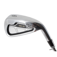 CLEVELAND 588 TT FACE FORGED 6 IRON STEEL TRACTION 85 REGULAR FLEX #D1600