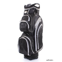 SHARK RUTHERGLEN GOLF CART BAG BLACK / GREY - NEW - #D1652