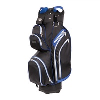 SHARK RUTHERGLEN GOLF CART BAG BLACK / ROYAL - NEW - #D1653