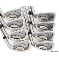 TOUR MODEL SERIES 6+ CUSTOMIZED 4-SW IRONS MICROSTEP STEEL FIRM +GRIPS #D2079