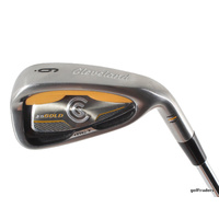 CLEVELAND CG GOLD STEEL 6 IRON STEEL TT ACTIONLITE FLIGHTED REGULAR #D2102