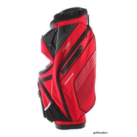 PING PIONEER 2017 GOLF CART BAG - RED / BLACK / LT GREY - NEW - #D2323