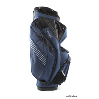 2017 PING PIONEER II GOLF CART BAG - NAVY / BLACK / WHITE - NEW - #D2530