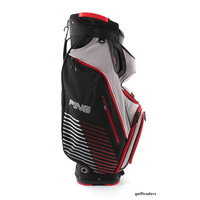 PING PIONEER II GOLF CART BAG - BLACK / ASH / CARDINAL RED - NEW - #D2597