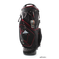 2016 SUN MOUNTAIN C-130 GOLF CART BAG - GUNMETAL/BLACK/RED - NEW - #D2674