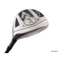 CALLAWAY FT 3 WOOD 15º GRAPHITE FUJIKURA E FIT-ON 160 REGULAR FLEX #D2791