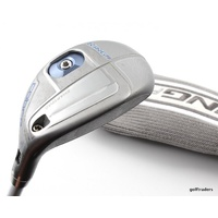 COBRA KING F6 SILVER 3-4 HYBRID 19º-22º GRAPHITE LADIES FLEX + COVER - #D3713
