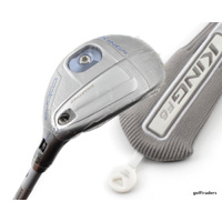 COBRA KING F6 22º-25º SILVER/BLUE HYBRID GRAPHITE LADIES + COVER - NEW D3715