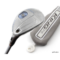 COBRA KING F6 22º-25º SILVER/BLUE HYBRID MATRIX 57 LADIES +COVER +NEW #D3717