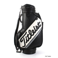 TITLEIST GOLF STAFF BAG BLACK/WHITE - #D3843