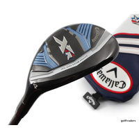 CALLAWAY XR 4 HYBRID 22º GRAPHITE LADIES FLEX + COVER - NEW - #D3883