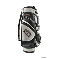 BRIDGESTON PENRITH PANTHERS DELUXE NRL GOLF CART BAG 14 HOLE TOP -USED #D4125