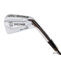BROSNAN TOUR CLASSIC HAND FORGED 4 IRON DYNAMIC GOLD STIFF - NEW GRIP #D4159