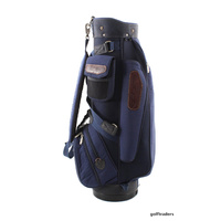 COBRA OUTBACK GOLF CART BAG - ROYAL BLUE + RAIN HOOD - USED #D4247