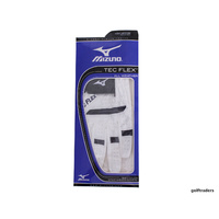 MIZUNO TEC FLEX ALL WEATHER MEN'S GOLF GLOVE WHITE MED LARGE- LH -NEW #D4365