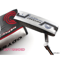 "ODYSSEY WORKS VERSA 1 PUTTER 35"" + COVER - LH #D4805"