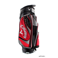 CALLAWAY FORRESTER CART BAG - RED / BLACK / CHARCOAL - BRAND NEW - #D4850