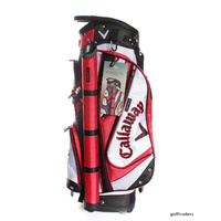 CALLAWAY FORRESTER CART BAG - RED / WHITE / BLACK - BRAND NEW - #D4865