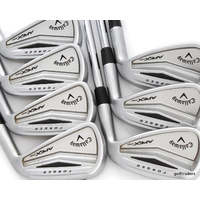 "CALLAWAY FORGED APEX PRO IRONS 4-PW STEEL REGULAR - 0.25"" SHORTER - #D4953"