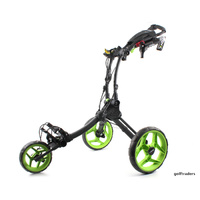CLICGEAR ROVIC RV1C GOLF BUGGY CHARCOAL  / LIME - NEW -  #D5012