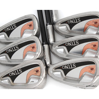 REDBACK STING STAINLESS IRONS 5-PW GRAPHITE LADIES FLEX #D5200