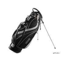 NX-G LEXUS LOGO GOLF STAND BAG - BLACK / WHITE+ HOOD - LIKE NEW #D5287