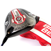 CALLAWAY BIG BERTHA 815 ALPHA DOUBLE DIAMOND 10.5º DRIVER X-STIFF +COVER #D533