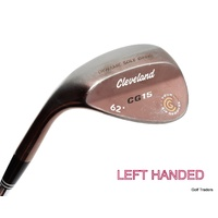 CLEVELAND CG15 TOUR ZIP GROOVES 62º LOB WEDGE STEEL WEDGE FLEX - LH #D5388