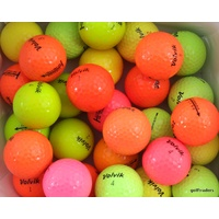 VOLVIK GOLF MIXED COLOURED GOLF BALLS x 30 - USED - #D5495