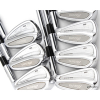 MIZUNO MP-58 FORGED IRONS 4-PW DYNAMIC GOLD S300 STIFF - #D5505