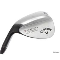 CALLAWAY MACK DADDY 2 FORGED GAP WEDGE 52°.12S STEEL DG WEDGE FLEX - LH #D5867