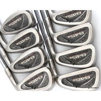 TOMMY ARMOUR 845S SILVER SCOT IRONS 4-PW, SW STEEL REGULAR - NEW GRIPS #D5897