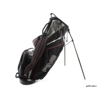 PING HOOFER STAND BAG - BLACK / GREY #D5920