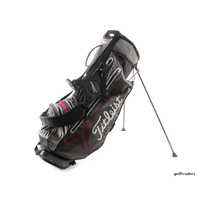 TITLEIST STADRY STAND BAG BLACK / GREY / RED - #D5928