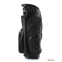 EAGLES AND BIRDIES 2017 BIG FRIDGE CART BAG BLACK - NEW #D6016