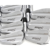TITLEIST 714 MB FORGED 4-PW IRONS DYNAMIC GOLD TOUR ISSUE STIFF FLEX #D6048