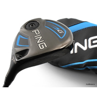 PING G SERIES 20.5º 7 WOOD GRAPHITE SOFT REGULAR + COVER - LIKE NEW #D6070