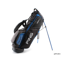 PING 2017 HOOFER GOLF STAND BAG - BIRDIE BLUE/ GREY - NEW #D6199