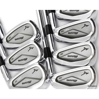 "MIZUNO MP-53 GRAIN FLOW FORGED IRONS 4-PW STEEL STIFF (+0.5"" LONGER) - #D6231"