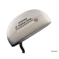 "ODYSSEY DUAL FORCE 2 ROSSIE PUTTER 35"" - NEW GRIP #D6333"