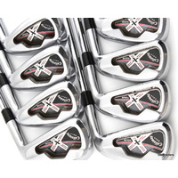 "CALLAWAY X TOUR FORGED IRONS 3-PW DYNAMIC GOLD S300 STIFF (+0.5"") - #D6336"