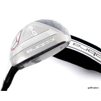 COBRA BIO CELL-S 3 HYBRID 18º GRAPHITE SENIORS FLEX + COVER - NEW - #D654